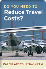 Calculate your travel savings using InterCall